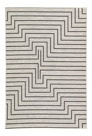 Image of Charcoal Contemporary Machine-Made Rugs