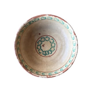 Antique Italian Ceramic Bowl