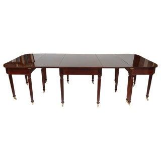 Sheraton Mahogany Extending Dining Table, Boston, Massachusetts, Circa 1810 For Sale