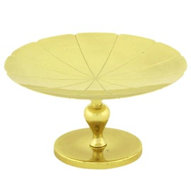 Image of Gold Serving Dishes and Pieces
