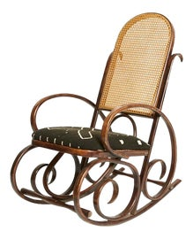 Image of Art Nouveau Rocking Chairs