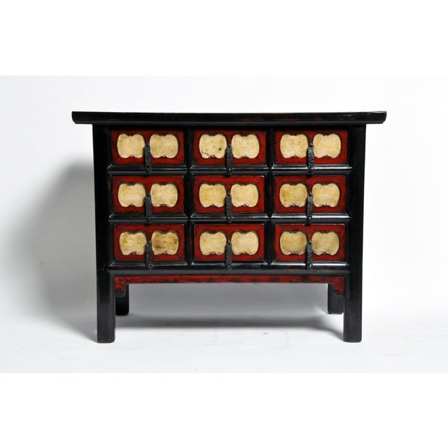 Chinese Side Chest with Nine Drawers For Sale - Image 4 of 13