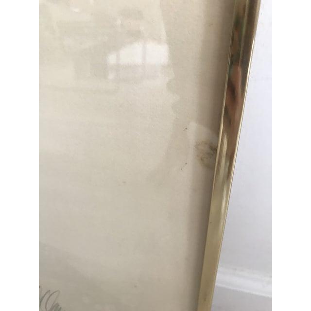 Vintage Doug Danz Framed Poster - Image 8 of 9