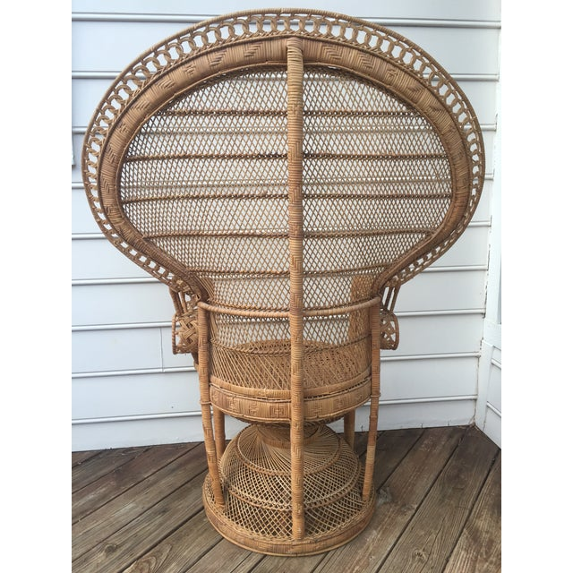 Vintage Peacock Chair - Image 6 of 10