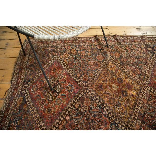 """Antique Persian Qashqai Rug - 3'11"""" x 6'5"""" - Image 4 of 10"""