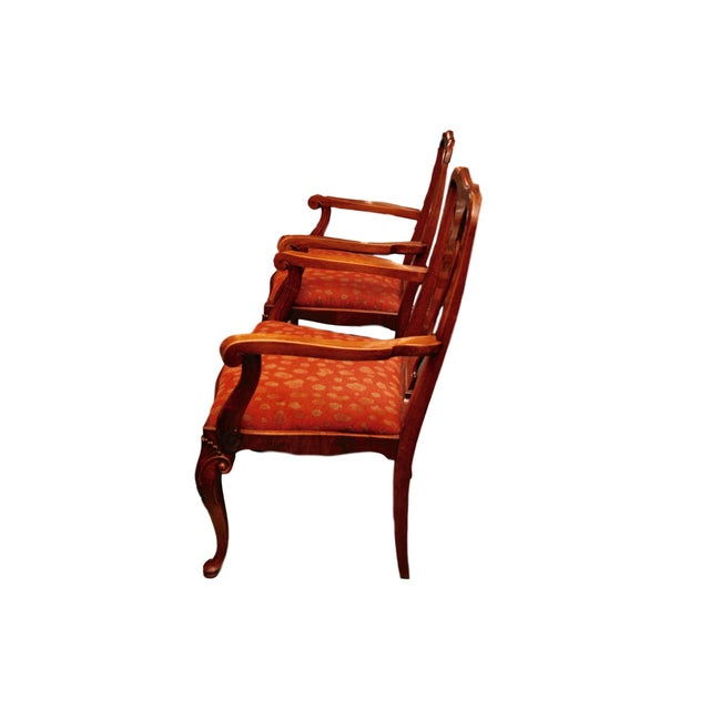 Antique Queen Anne Mahogany Dining Chairs - A Pair - Image 3 of 7