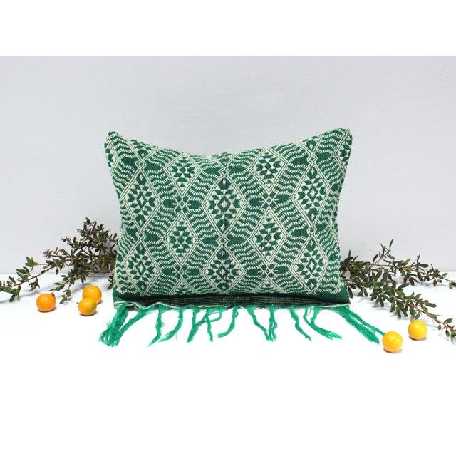 Handloomed Sumba Ikat Lumbar Pillow - Image 5 of 7