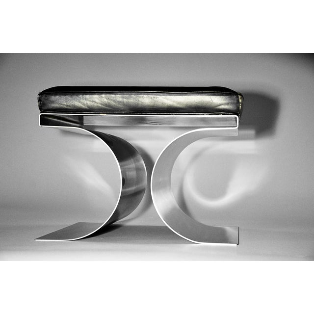 """Michel Boyer """"X"""" Stool, Circa 1968 For Sale - Image 10 of 11"""