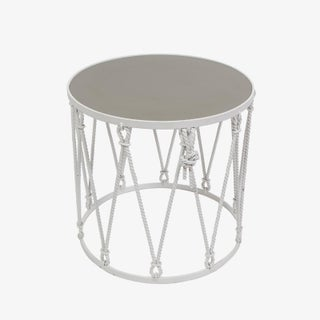 Iron Drum Side Table Preview