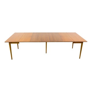 Vintage Mid-Century Lawrence Peabody for Nemschoff Drop-Leaf Dining Table For Sale