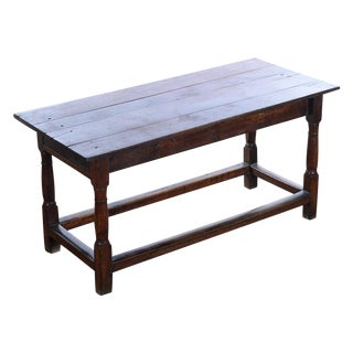 18th C. Antique English Farmhouse Table For Sale