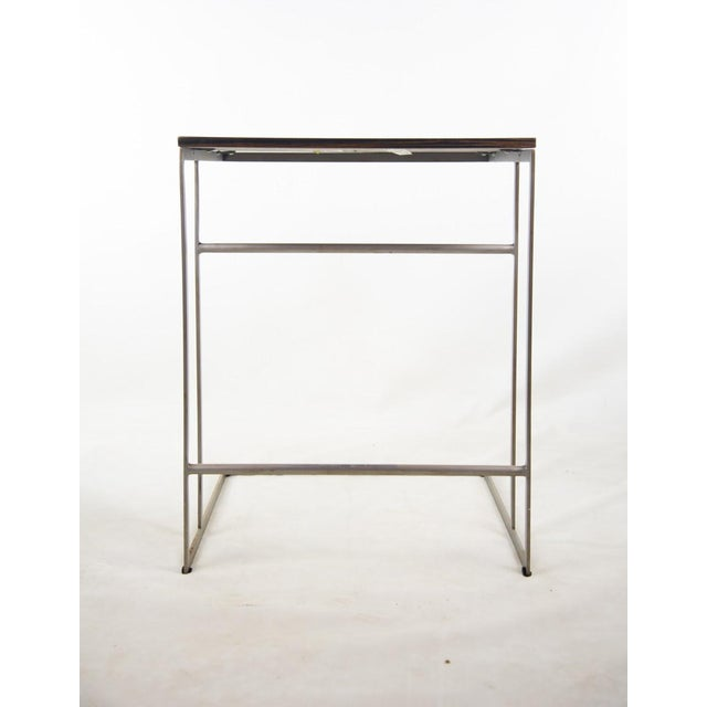 Metal 1990s Desiron Lap Tables - a Pair For Sale - Image 7 of 13
