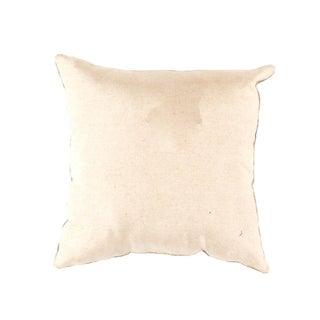 Contemporary Pasargad Oasis Collection Silk Velvet Ikat Pillow - 20ʺW × 20ʺH Preview