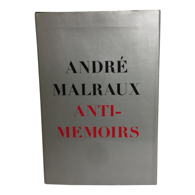 Anti-Memoirs Andre Malraux 1968 For Sale