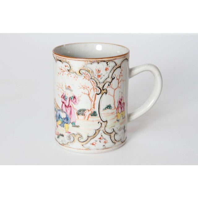 Late 18th Early 19th Century Chinese Export Mugs / Tankards For Sale - Image 4 of 13