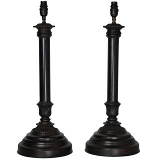 21st Century Bronze Neoclassical Lamps For Sale