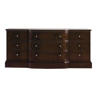 Thomas Pheasant for Baker Triple Mahogany Dresser