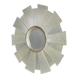 Contemporary Regency Sunburst Mirror