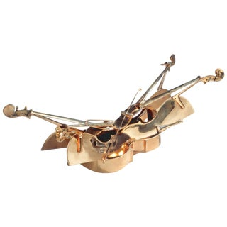 Arman, Cellos Bronze Coffee Table, Signed and Numbered For Sale