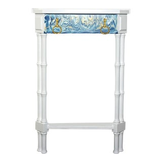 Painted White Accent Table