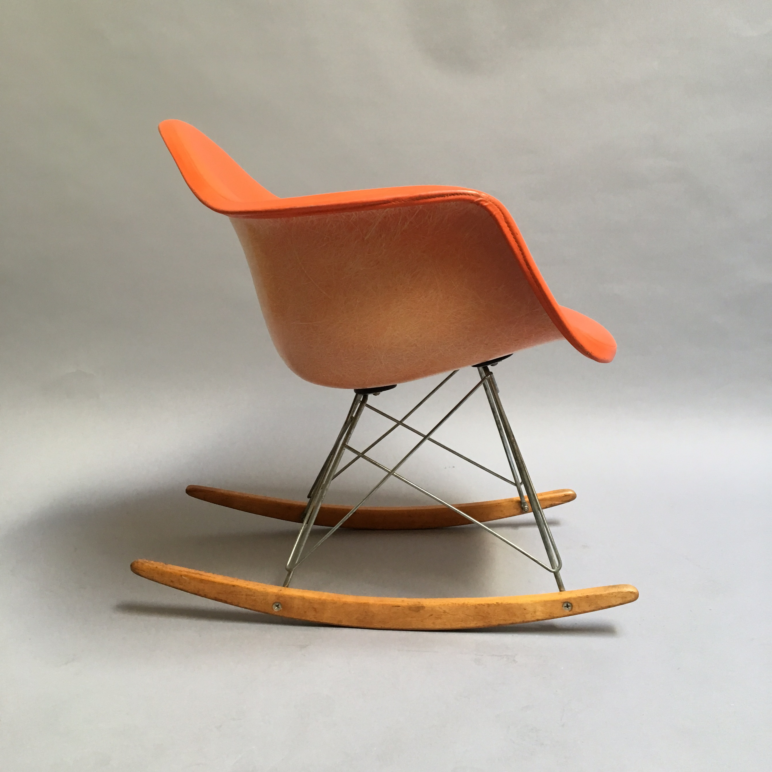 Eames 50s Original Eames Rocking Chair For Sale   Image 4 Of 11