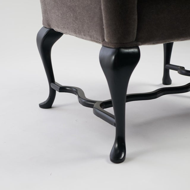 Arturo Pani Wingback Chairs For Sale - Image 10 of 13