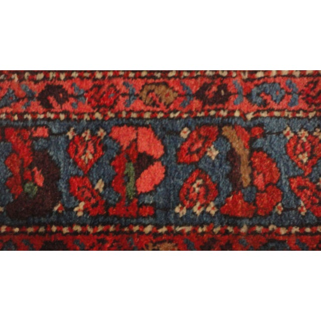 Antique Persian Bijar Runner Rug - 17' x 3' For Sale - Image 4 of 4