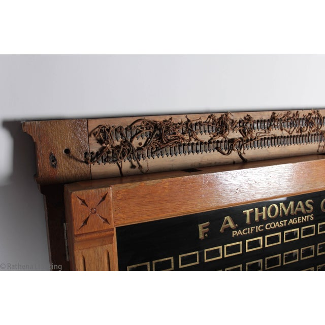 Antique Annunciator Call Box - Image 9 of 11