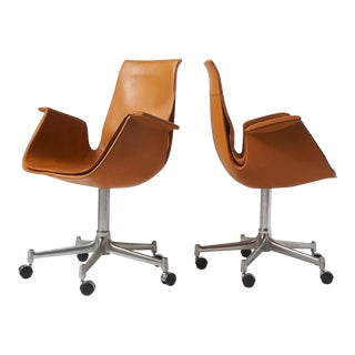 "Pair of ""Bird"" Chairs by Preben Fabricius For Sale"