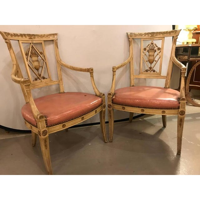 Maison Jansen Arm Chairs - a Pair - Image 5 of 11