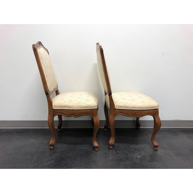 Baker Furniture Company Baker French Country Dining Side Chairs - Pair 1 For Sale - Image 4 of 12