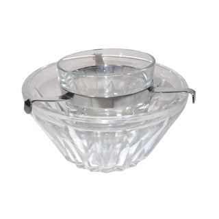 Baccarat Crystal Caviar Bowl For Sale