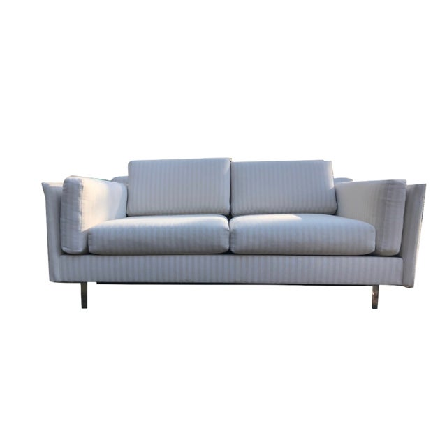 Midcentury modern couches in great condition. White and off-white colors with chrome legs. gently used but overall great...