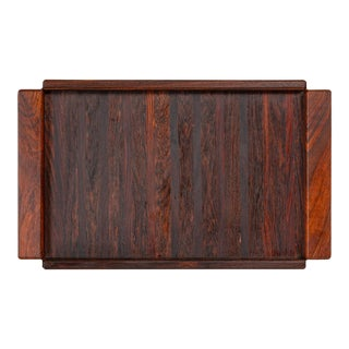 Don Shoemaker Rosewood Tray for Señal For Sale