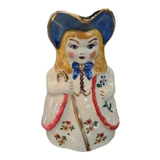 1940's Little Bo Peep Pitcher For Sale