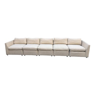 1980s Vintage Dansen 5pc Sectional Sofa For Sale
