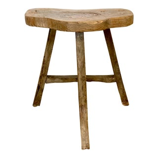 Small Wooden Butterfly Stool For Sale