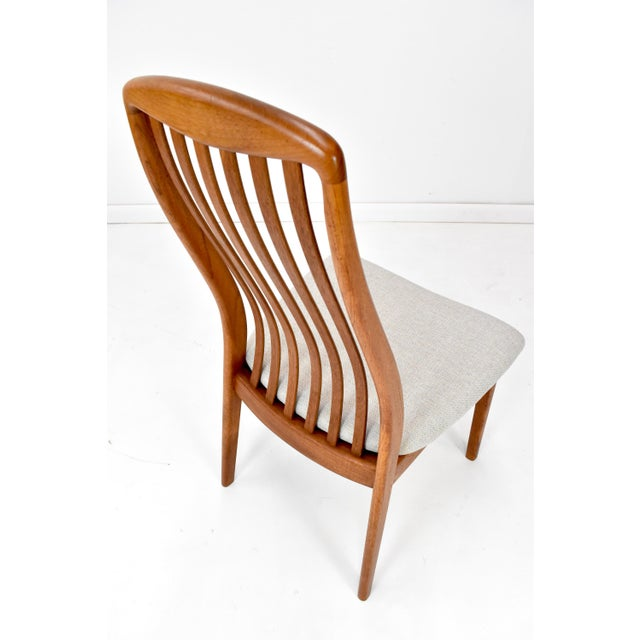Teak Danish Modern Teak Dining Chairs by Edward Valentinsen - Set of Six For Sale - Image 7 of 13