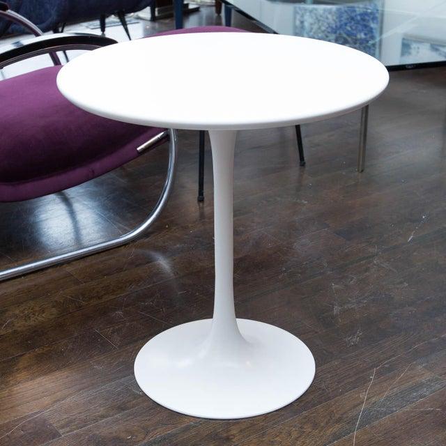Saarinen Style Tulip Side Table - Image 5 of 5
