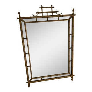 Friedman Brothers Mirror Antique Gold Finish For Sale