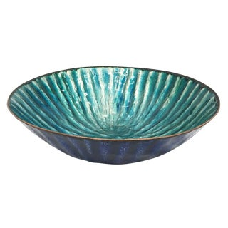 Enameled Bowl by Paolo DePoli, Italy, 1960s For Sale