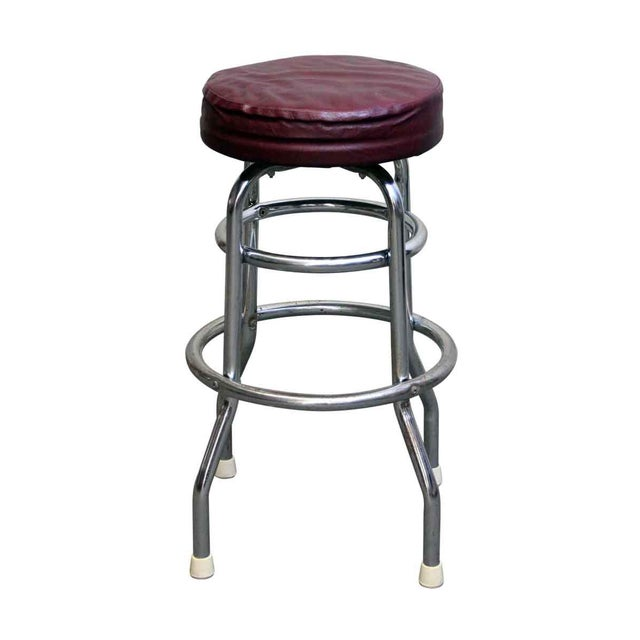 Fixed stool height. Made by Bar Stools Plus, Inc. Priced each for a single. The dimensions are 29.25 in. H x 22 in....