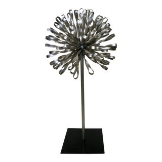 Mid 20th Century Metal Sculpture For Sale