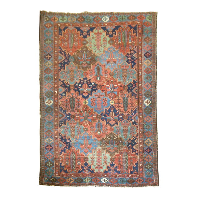 Antique Tribal Persian Rug - 5'2'' x 7'2'' - Image 1 of 5