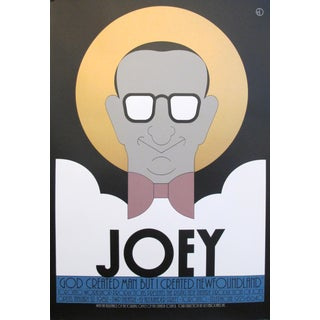 1980s Original Canadian Poster - Joey by Theo Dimson For Sale