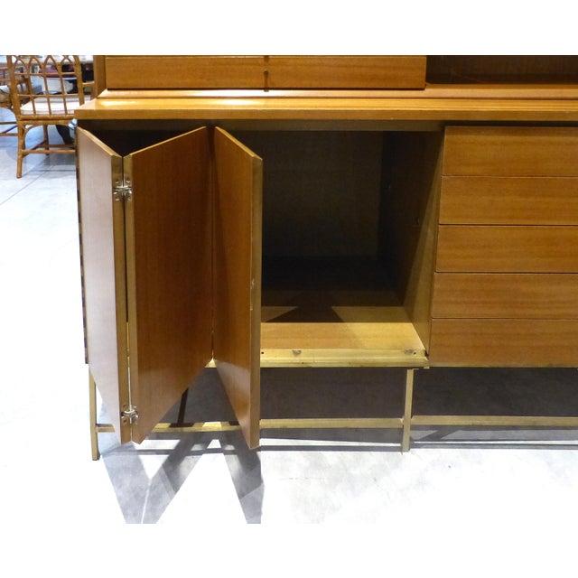 Mid-Century Modern Mid-Century Modern Paul McCobb for Calvin Furniture Breakfront For Sale - Image 3 of 13