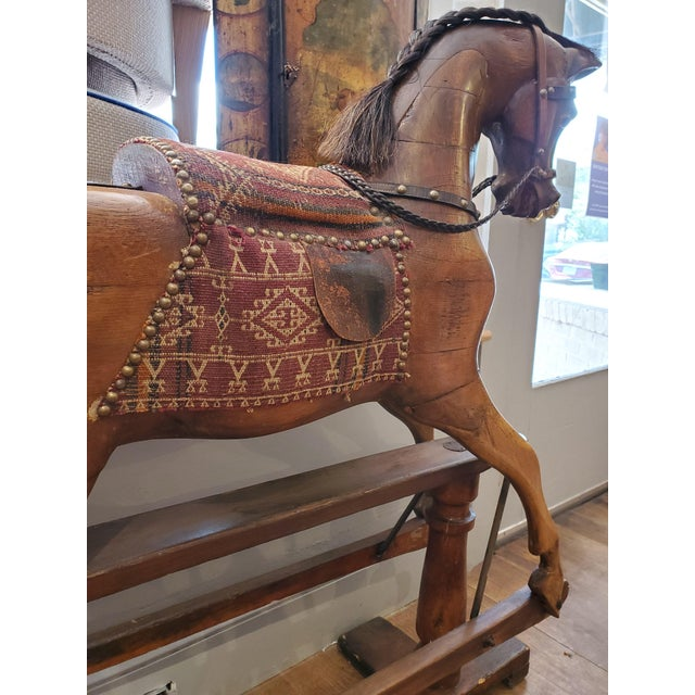 Mid 19th Century 19th Century English Rocking Horse For Sale - Image 5 of 9