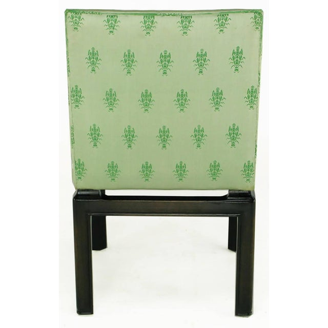 Wood Eight Baker Far East Collection Floating Dining Chairs For Sale - Image 7 of 9