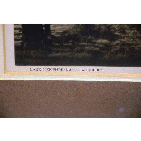 Black & White Lake Memphremagog Photo For Sale - Image 4 of 6