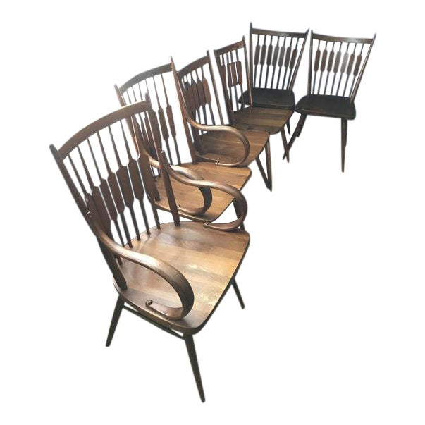 Drexel Declaration Kipp Stewart Dining Chairs - Set of 6 For Sale
